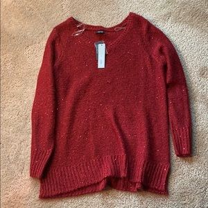 Red Sweater // New with tags